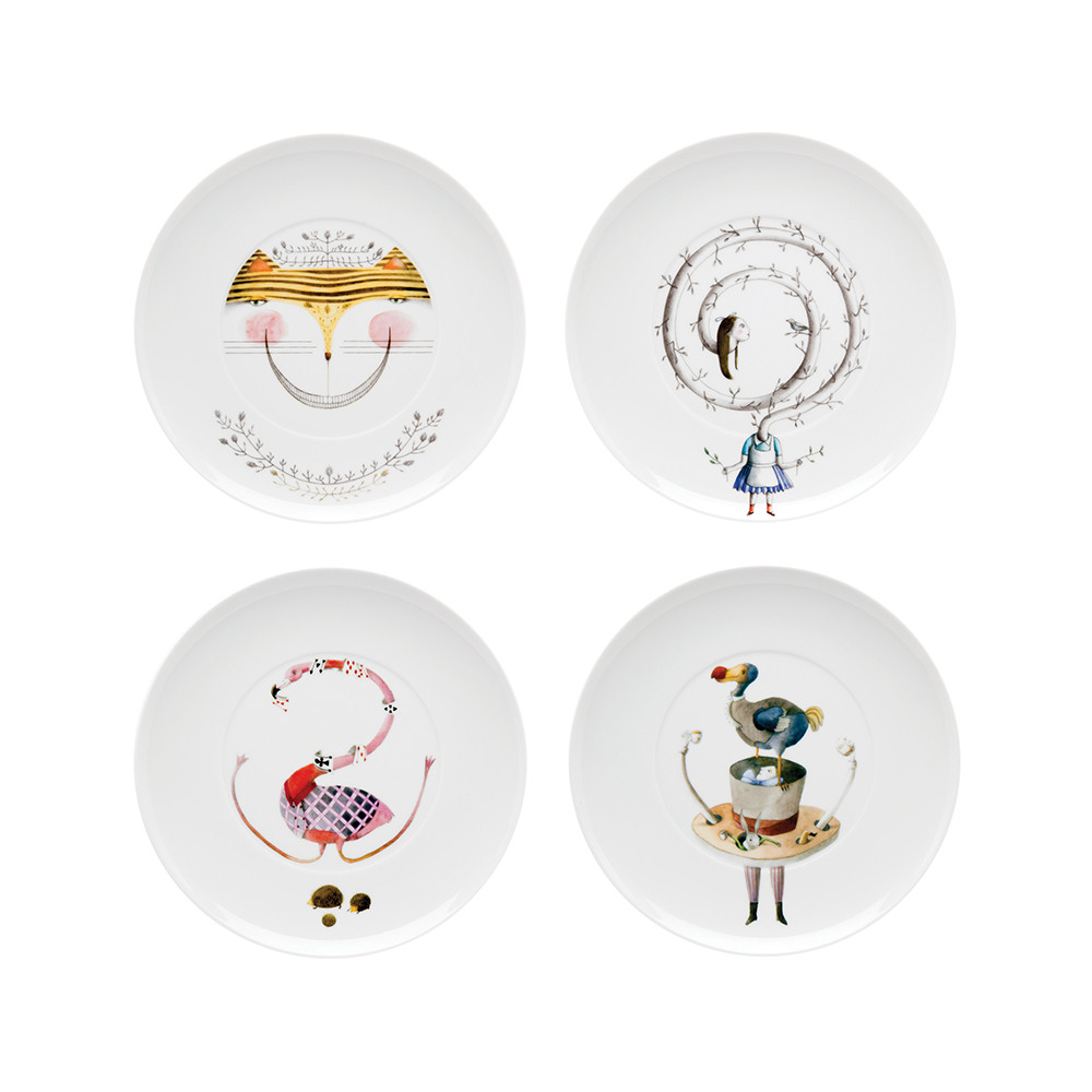 tea-with-alice-dessert-plates-set-of-4