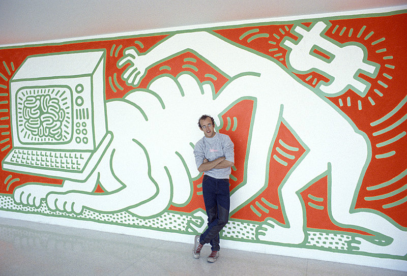 Keith-Haring-at-the-Walker-Art-Center