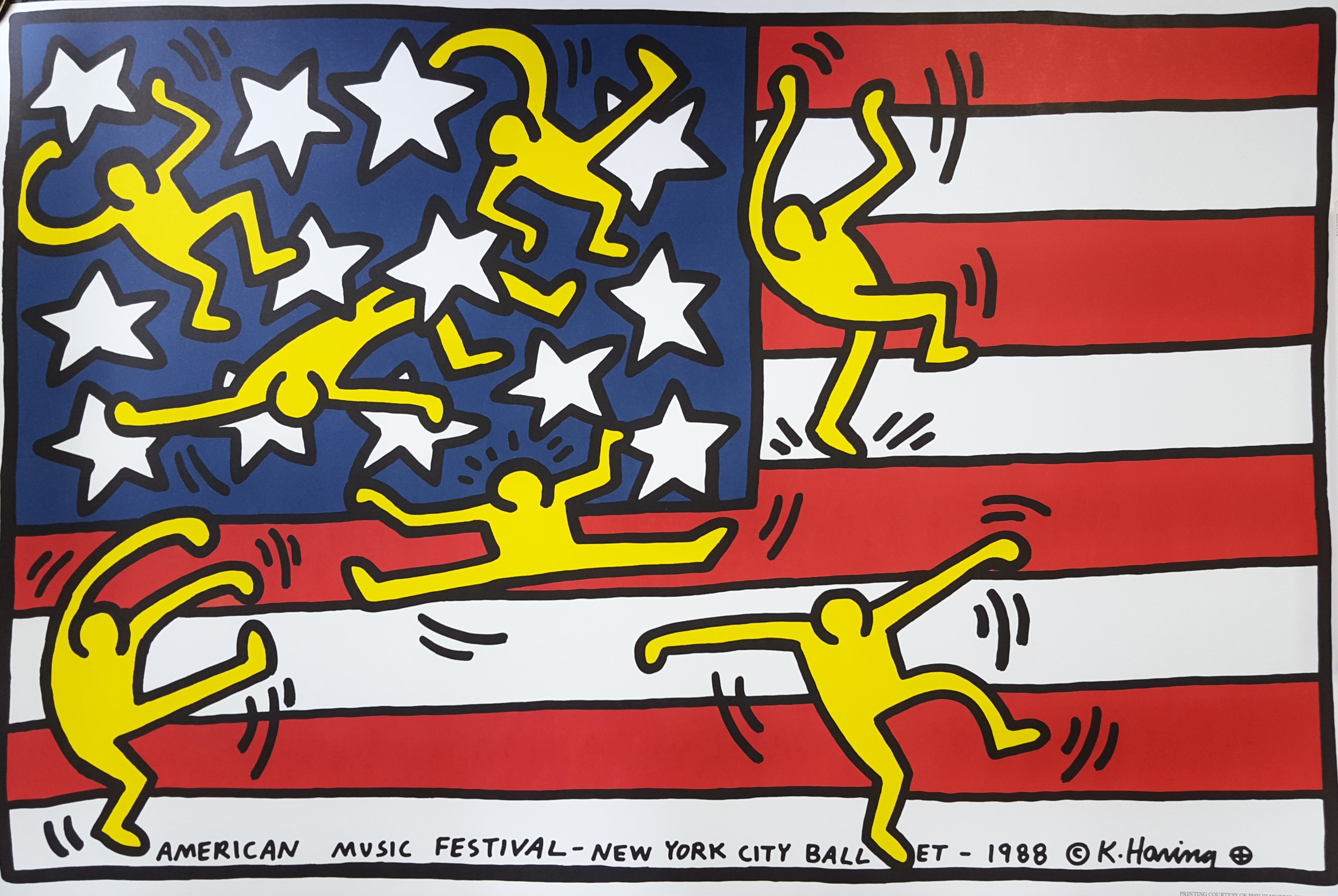 keith haring new york city ballet